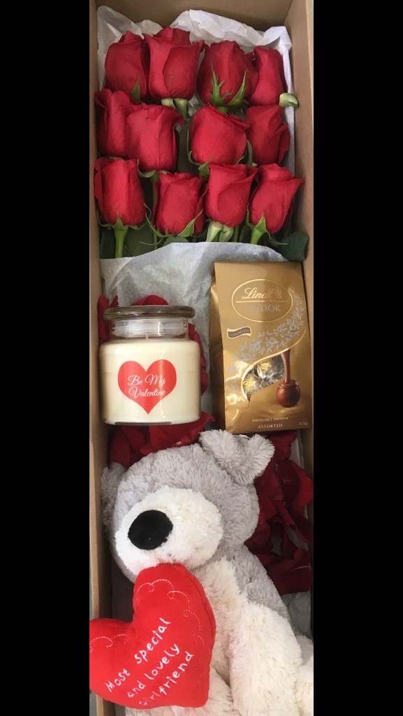 Valentines day luxury box